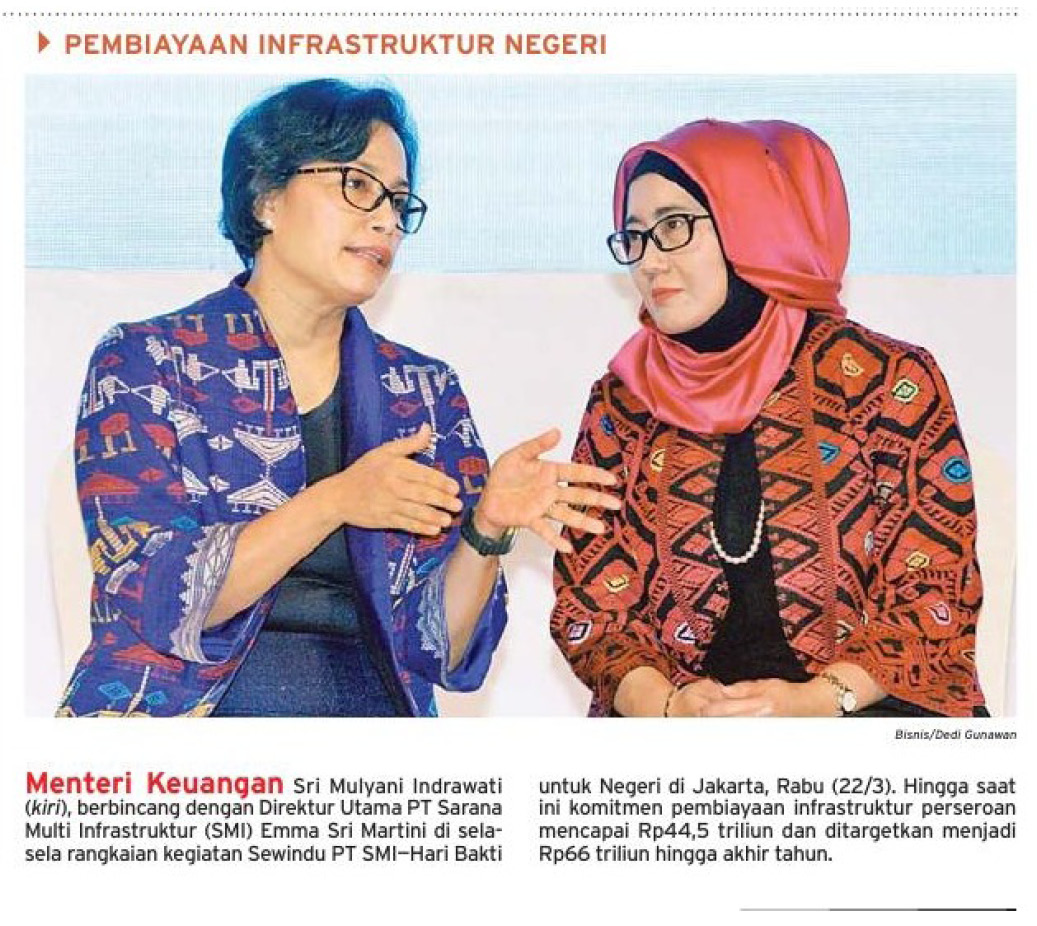 Emma Sri Martini, Direktur Utama PT Sarana Multi Infrastruktur (Persero)