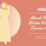 Banner Tata Cara Mandi Wajib Untuk Wanita Seusai Haid